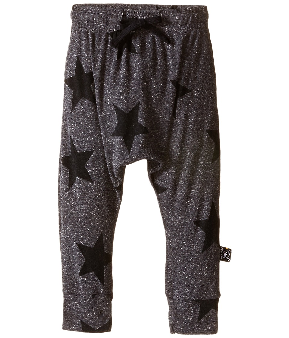 Nununu Star Baggy Pants Infant/Toddler/Little Kids Charcoal Kids Casual Pants
