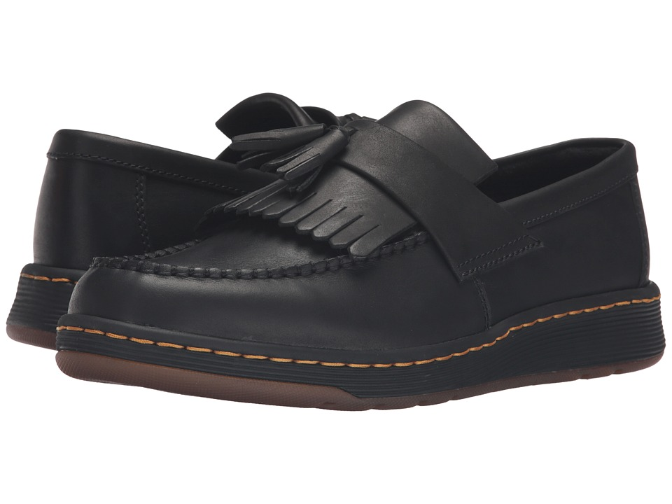 Dr. Martens Edison Kiltie Tassel Loafer (Black Temperley) Slip on Shoes