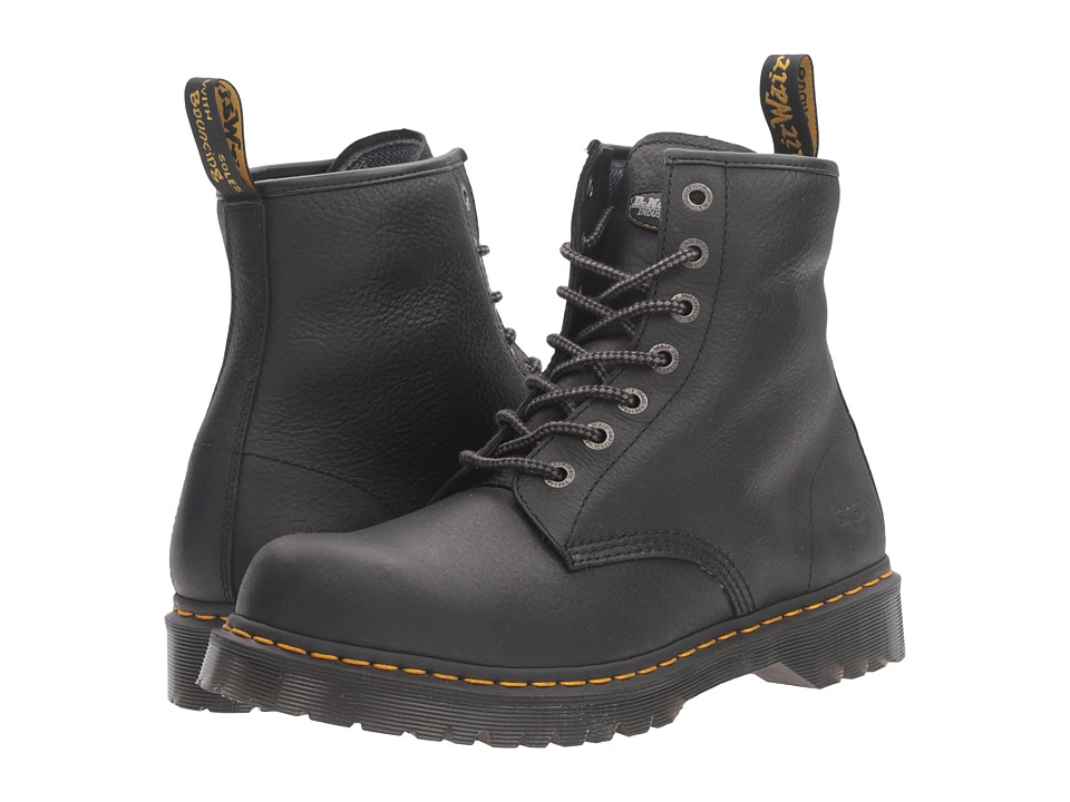 Dr. Martens Work - Service 7B10 7-Eye Boot (Black Industrial Bear) Work Lace-up Boots