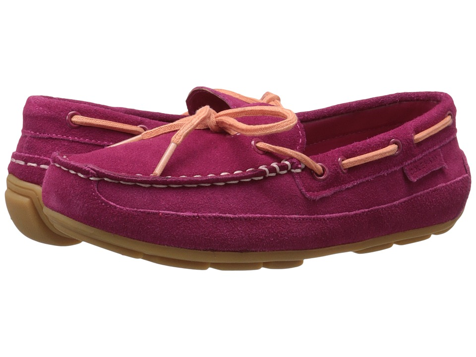 Cole Haan Kids Grant Driver Little Kid/Big Kid Electra Pink Suede Girls Shoes