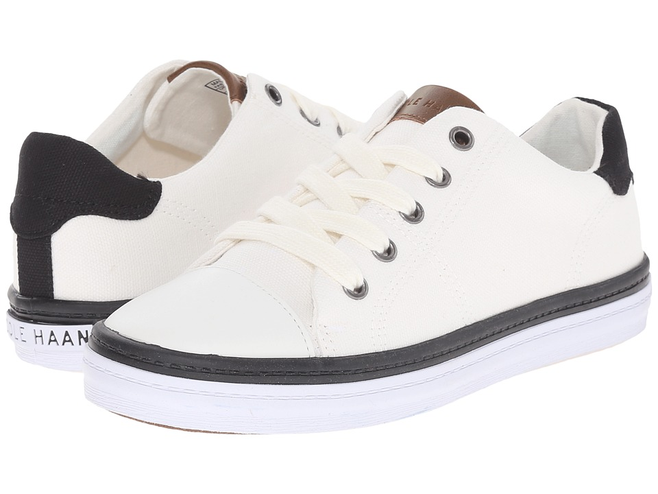Cole Haan Kids Pinch Court Little Kid/Big Kid White Canvas Kids Shoes