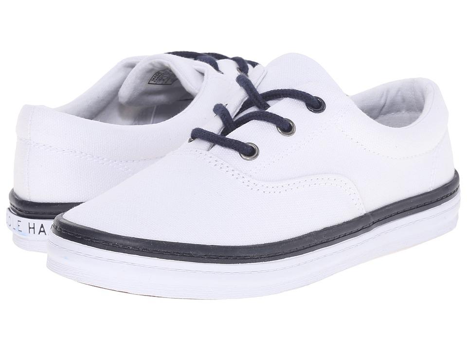 Cole Haan Kids Pinch Kelley Little Kid/Big Kid Optic White Canvas/Navy Kids Shoes