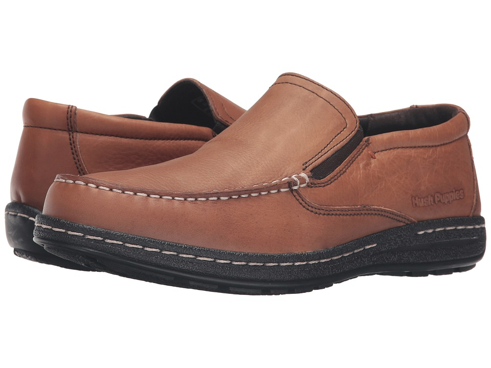 Hush Puppies - Vicar Victory (Dark Brown Leather) Men