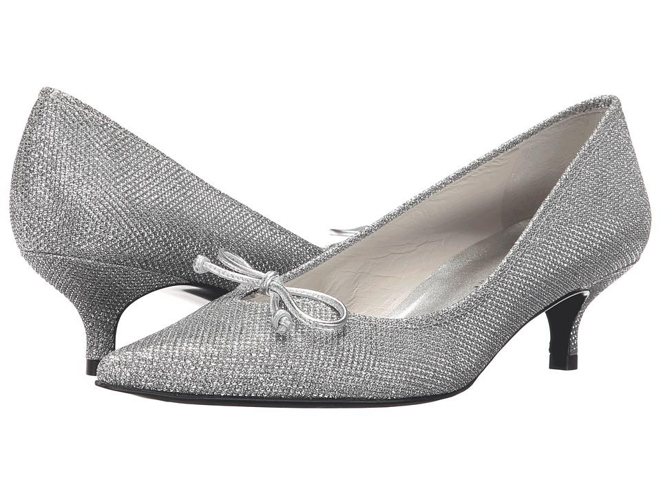 Stuart Weitzman Bridal & Evening Collection - Lopanache (Silver Noir) Women