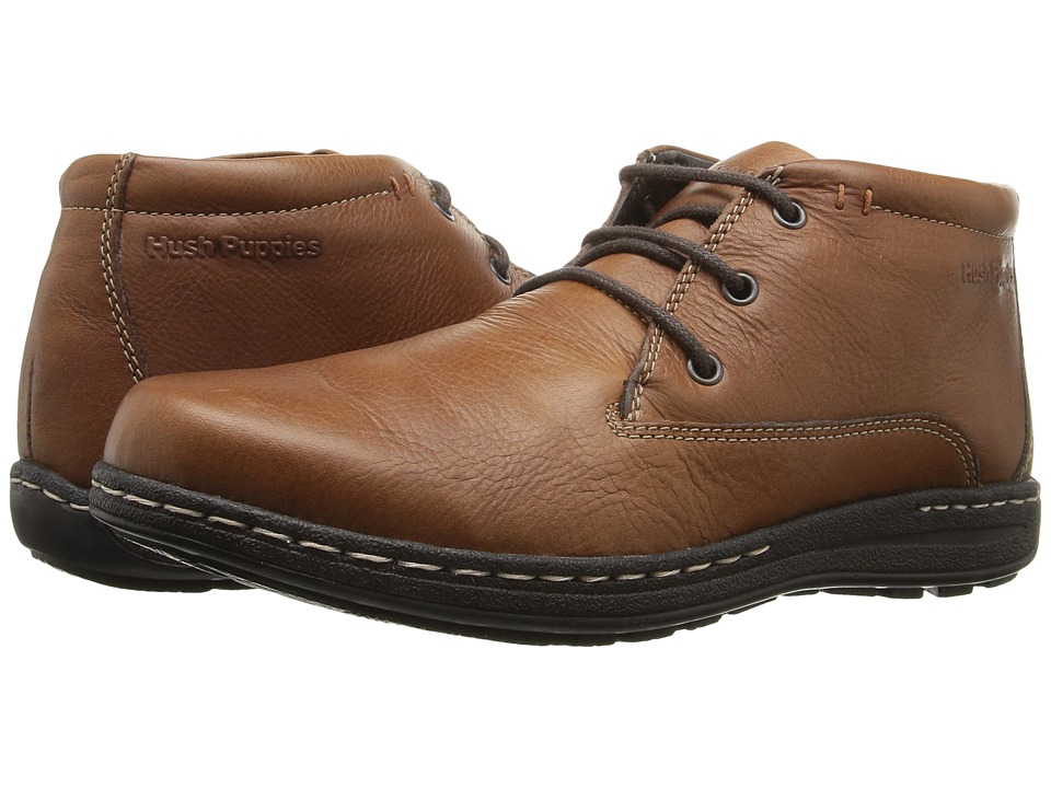 Hush Puppies Vice Victory (Dark Brown Leather) Men