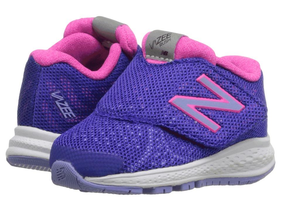 New Balance Kids - Vazee Rush v2 (Infant/Toddler) (Purple/Pink) Girls Shoes