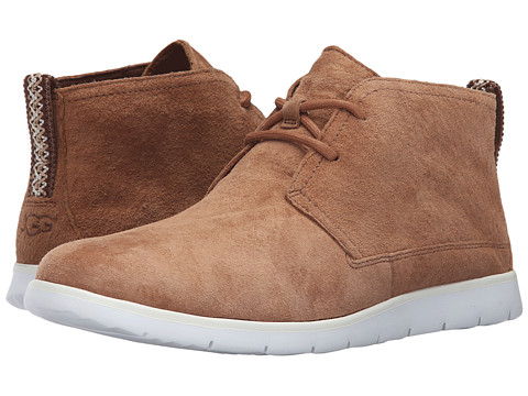 UGG Freamon - Chestnut/White Suede