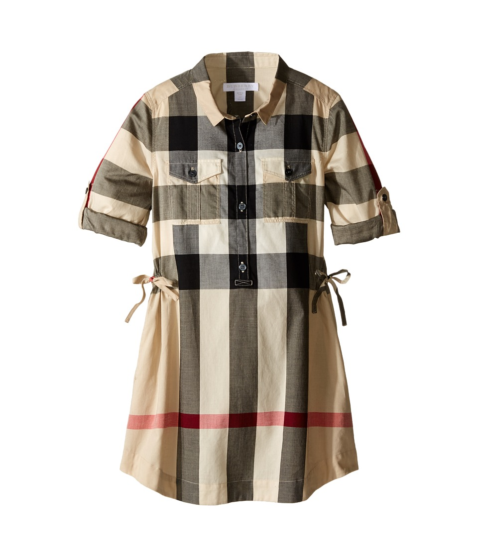 Burberry Kids - Darielle (Little Kid/Big Kid) (New Classic Checkers) Girl's Dress
