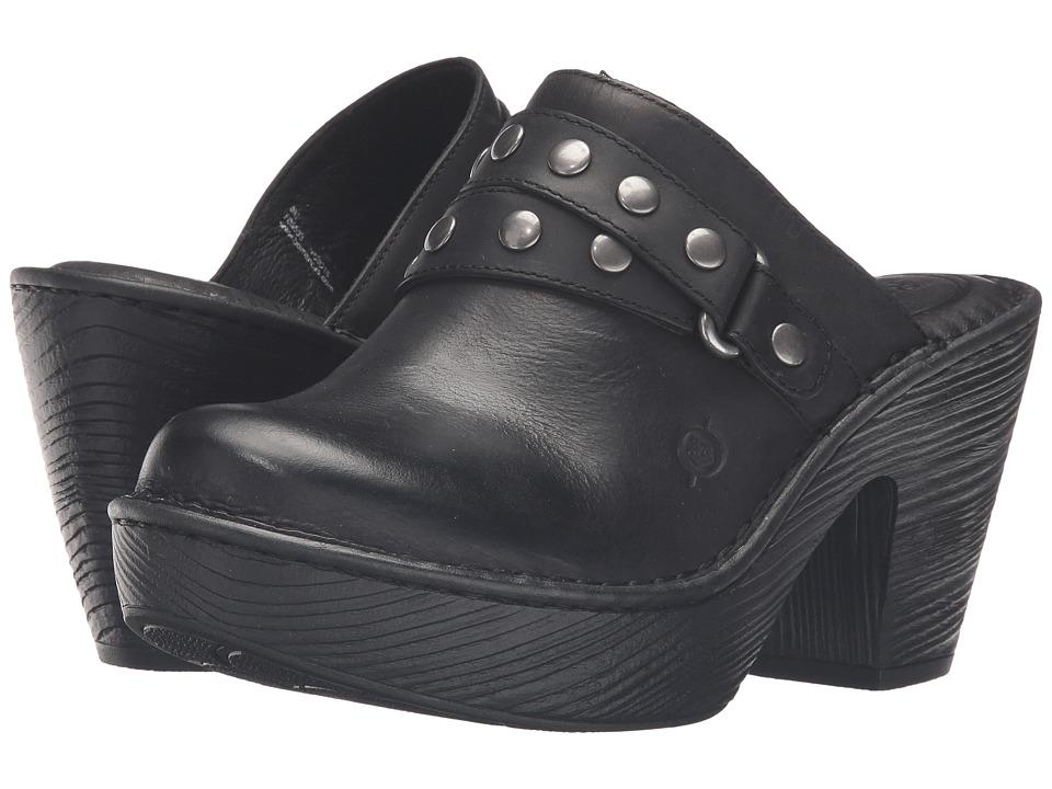 Born - Marney (Black Full Grain Leather) Women