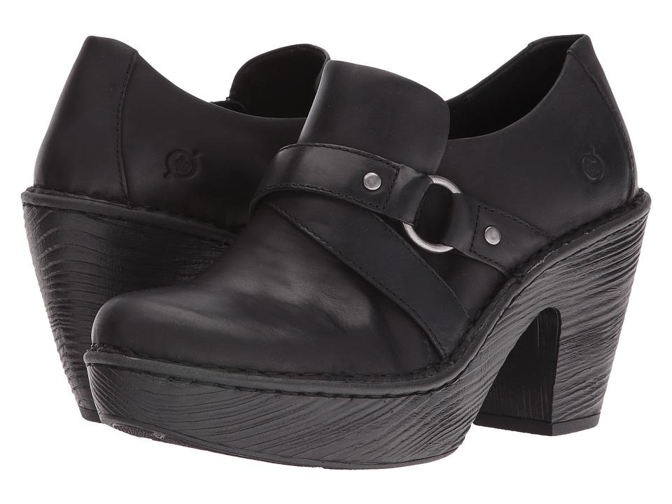 Born Onega (Black Full Grain Leather) Women