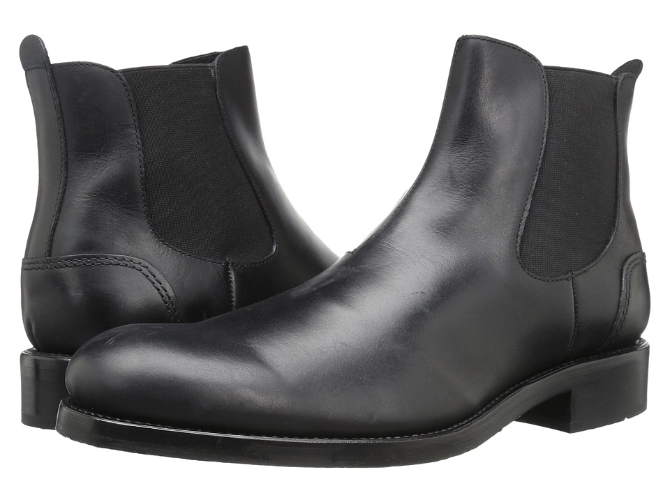 Wolverine 1000 Mile Montague Chelsea Boot (Black Leather) Men's Pull-on  Boots