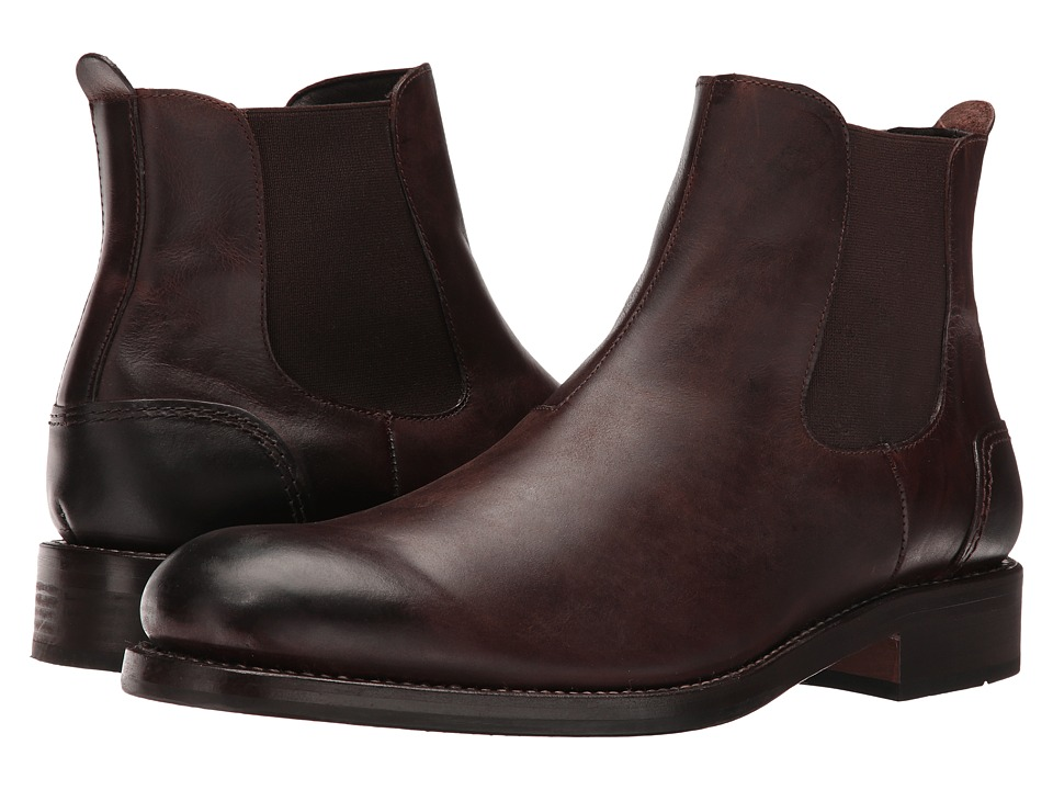 Wolverine 1000 Mile Montague Chelsea Boot (Dark Brown Leather) Men