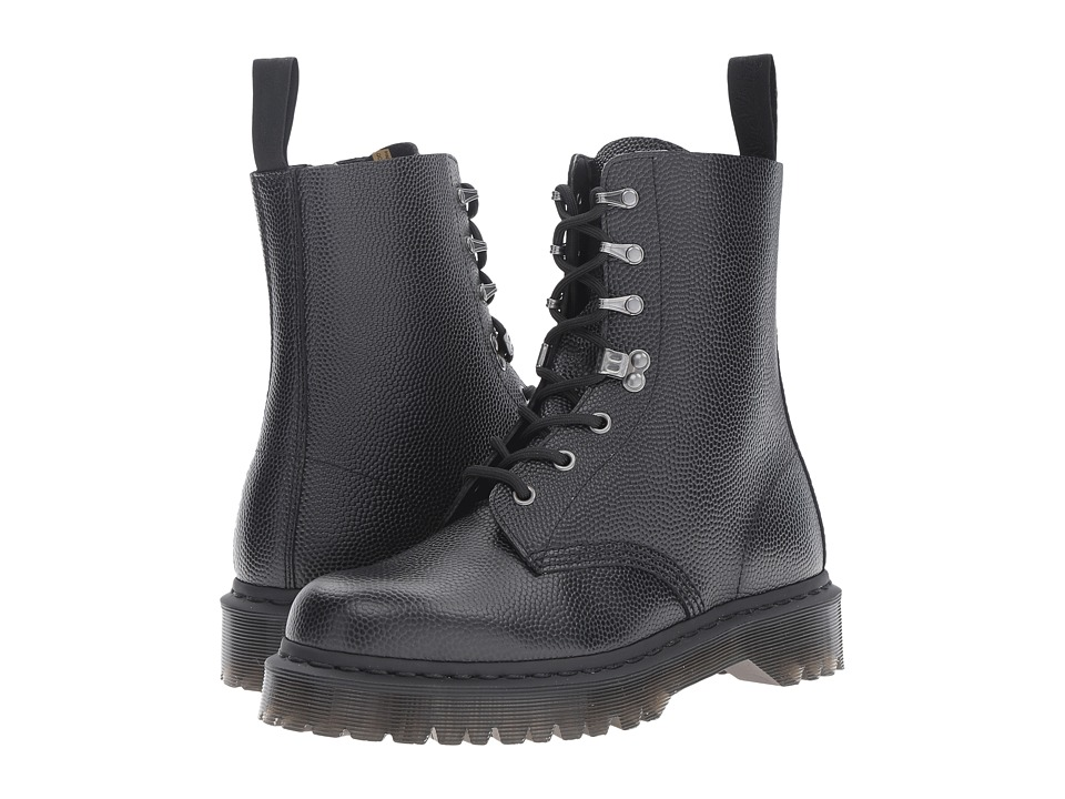 Dr. Martens Para Boot (Black Pebble) Lace-up Boots
