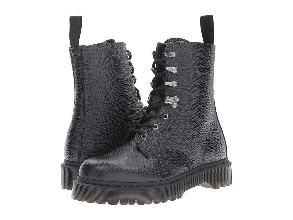 Dr. Martens Para Boot (Black Pebble) Lace-up Boots