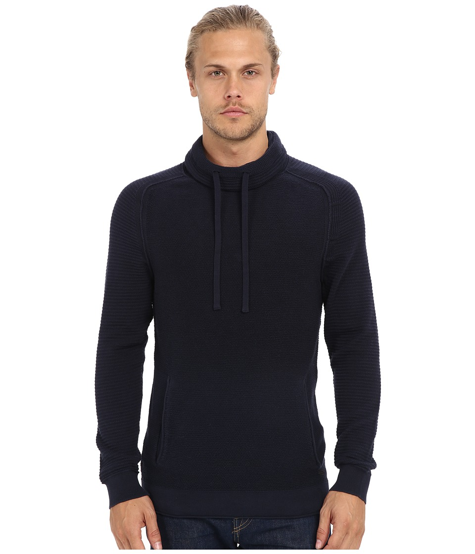 BOSS Orange Keno Sweater Navy Mens Sweater