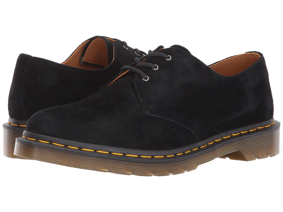 Dr. Martens 1461 3-Eye Gibson (Black Soft Buck)