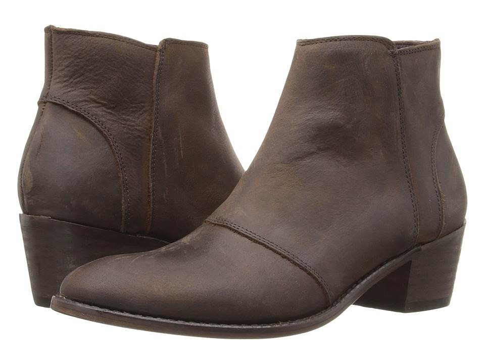 Wolverine Roxana (Brown Waxy Leather) Women