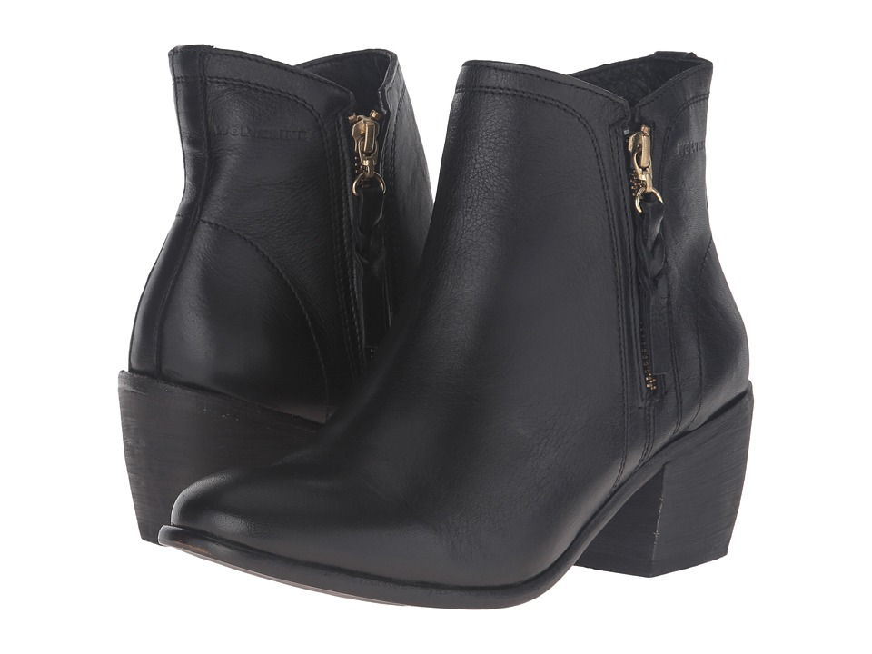 Wolverine Ella 5 (Black/Black Leather) Women