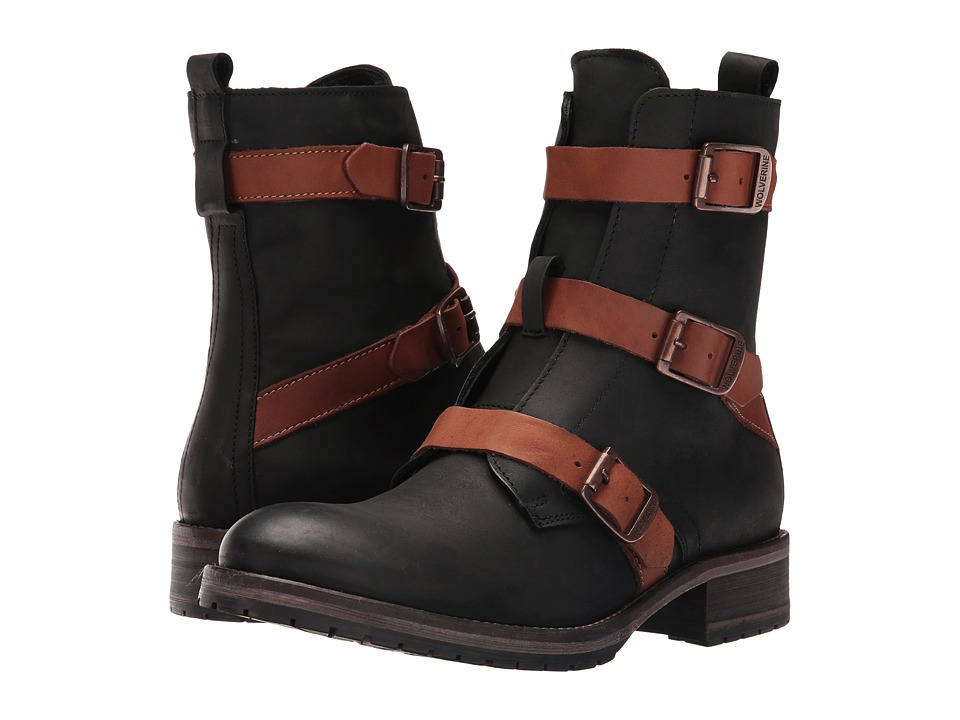 Wolverine Lizzie (Black Leather) Women