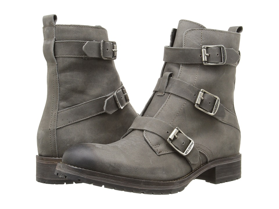Wolverine Lizzie (Grey Leather) Women
