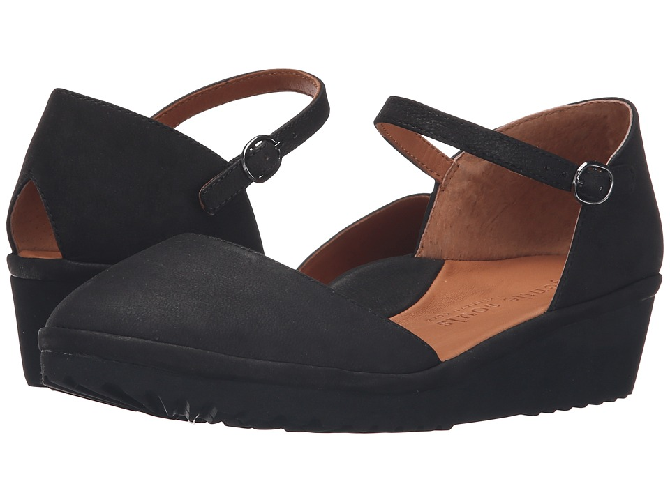 Gentle Souls Nora (Black Nubuck) Women