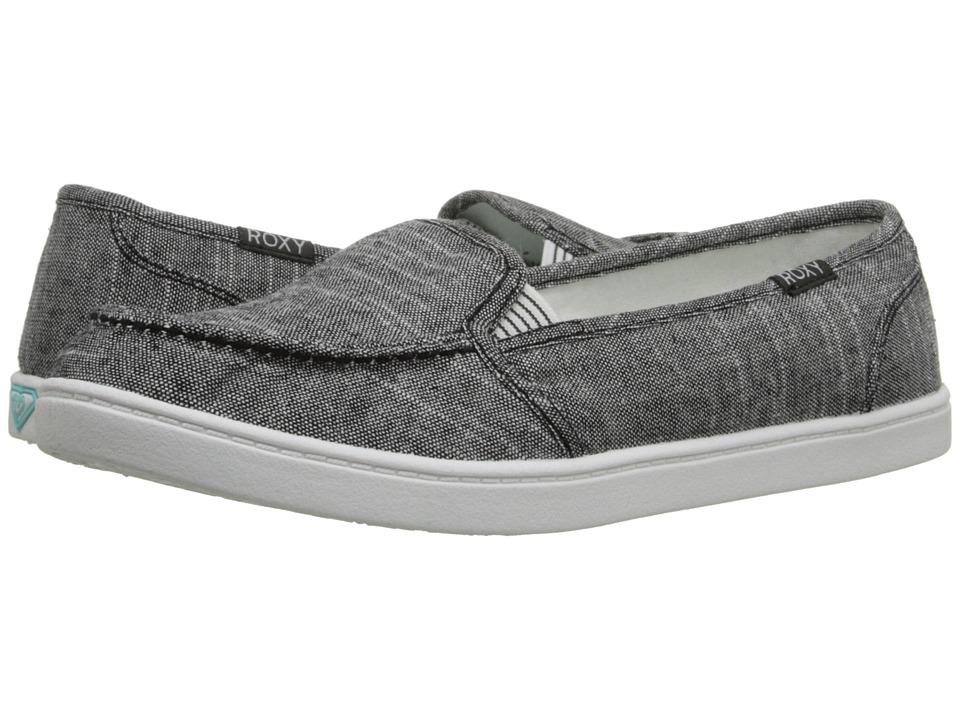 Roxy - Minnow V (Black Dark Used) Womens Shoes
