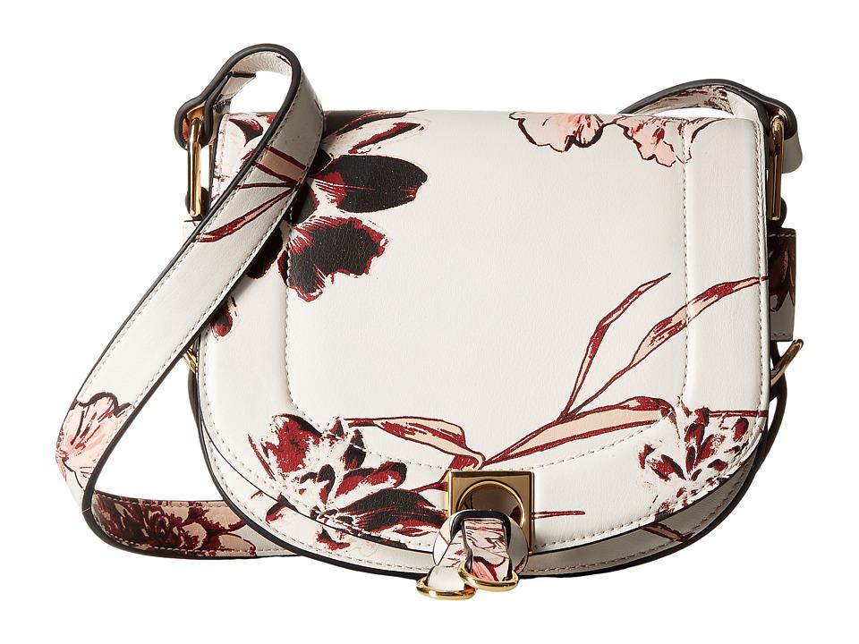 Ivanka Trump - Claudia Small Saddle Bag (Desert Floral) Handbags