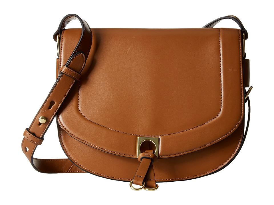 Ivanka Trump - Claudia Saddle Bag (Saddle) Handbags