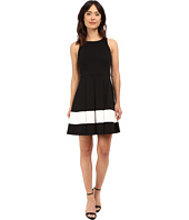Karen Kane - Stripe Flare Dress