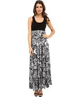 Karen Kane - Paisley Print Tiered Maxi Dress