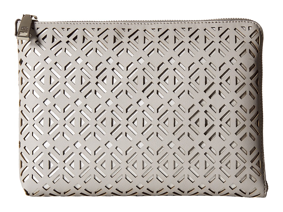 Ivanka Trump - Rio Tech Clutch with Battery Charging Pack (Stone) Clutch Handbags