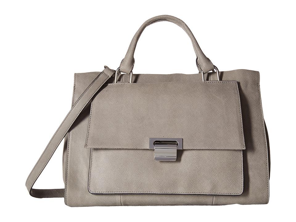 Ivanka Trump - Turner Briefcase Satchel (Stone) Satchel Handbags