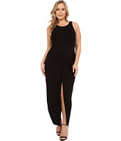 Christin Michaels - Plus Size Vivian Tank Maxi Dress with Twist Detail