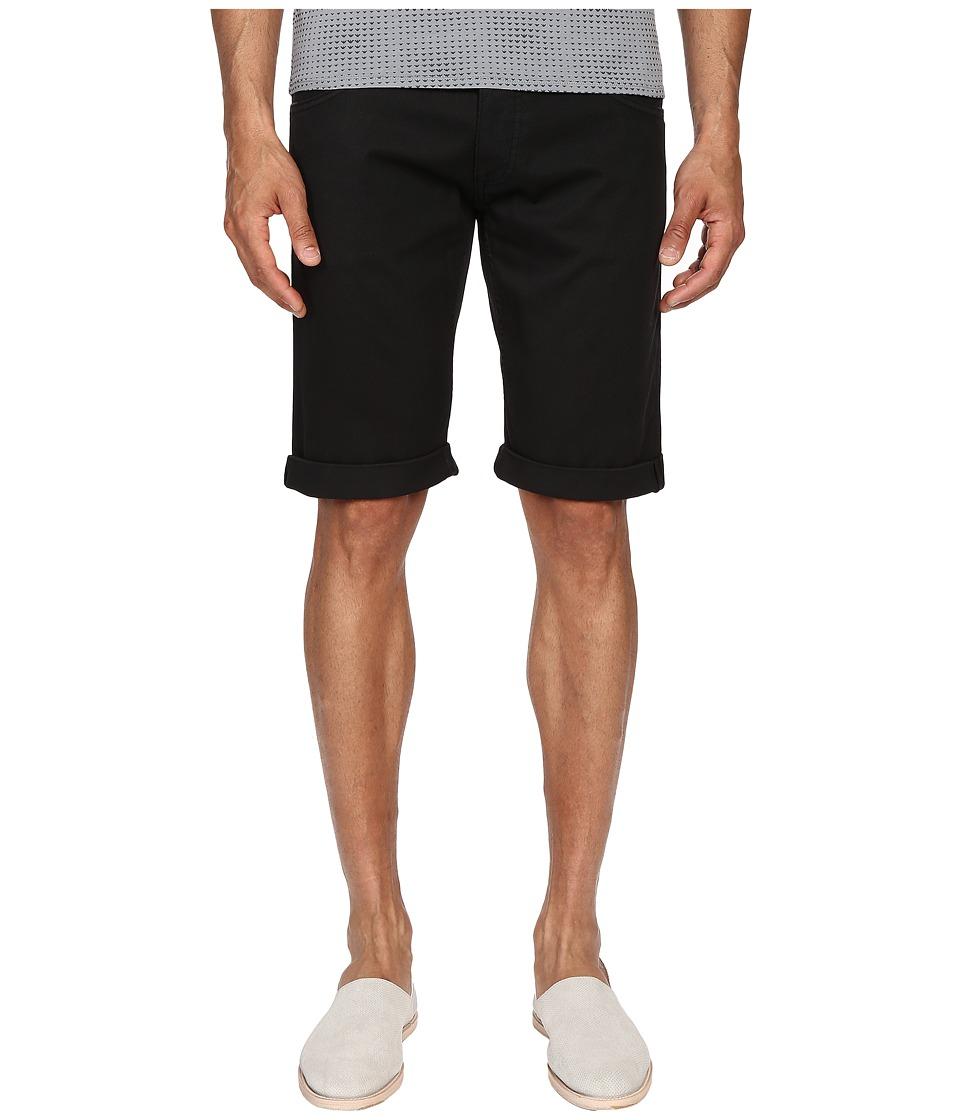 Armani Jeans Slim Shorts Black Mens Shorts