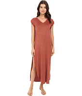 Culture Phit - Rilen V-Neck Rolled Sleeve Maxi Dress