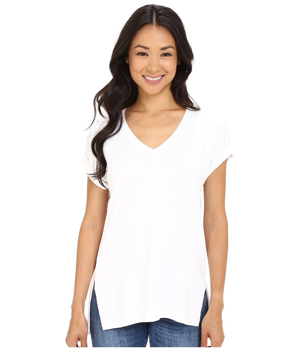Culture Phit - Janel Cuffed Sleeve Tee (White) Women