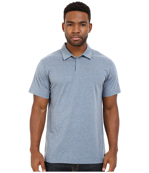 RVCA Sure Thing II Polo - Stormy Blue