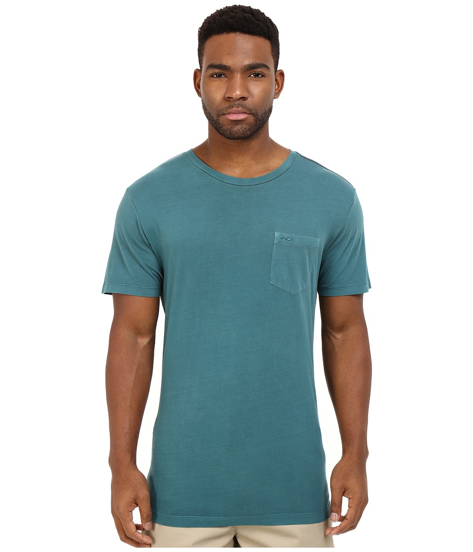 RVCA - PTC2 Pigment Knit (Pacific) Men