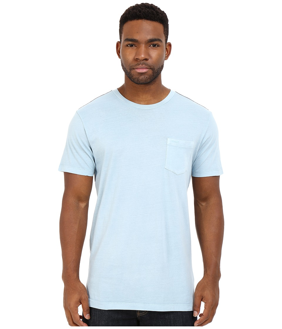 RVCA - PTC2 Pigment Knit (Powder Blue) Men