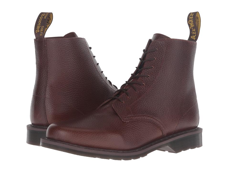 Dr. Martens Eldritch 8-Eye Boot (Dark Brown New Nova) Lace-up Boots