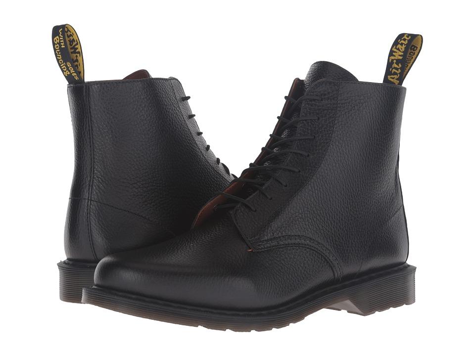 Dr. Martens Eldritch 8-Eye Boot (Black New Nova) Lace-up Boots