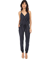 Brigitte Bailey - Makena Spaghetti Strap Striped Jumsuit