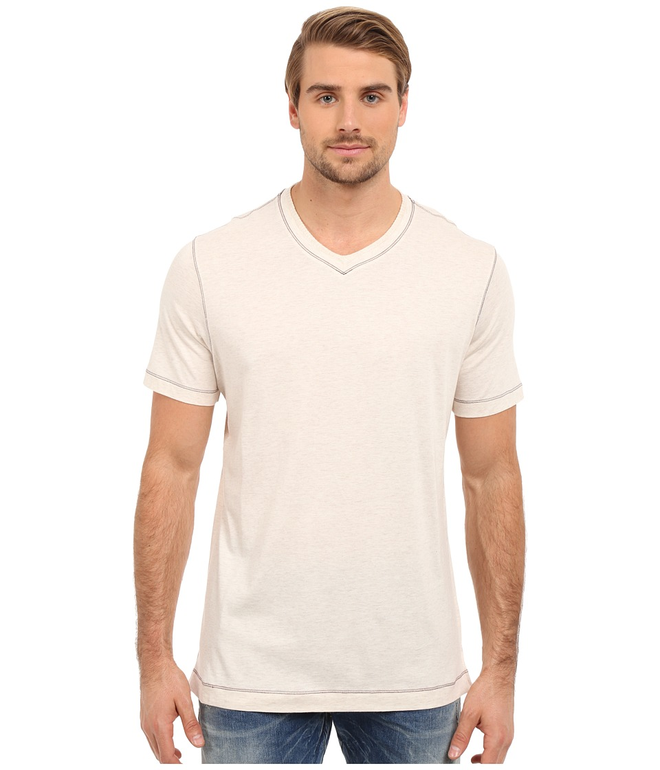 Robert Graham Traveler Tee (Heather White) Men