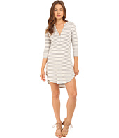 Brigitte Bailey - Callie Button Up Striped Dress