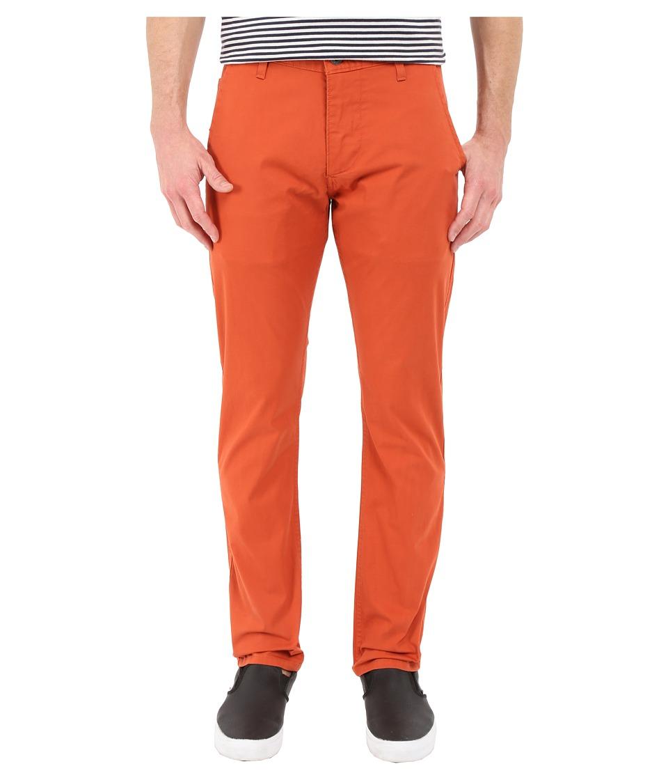 Dockers Mens Alpha Original Khaki Copper Sunset Mens Casual Pants