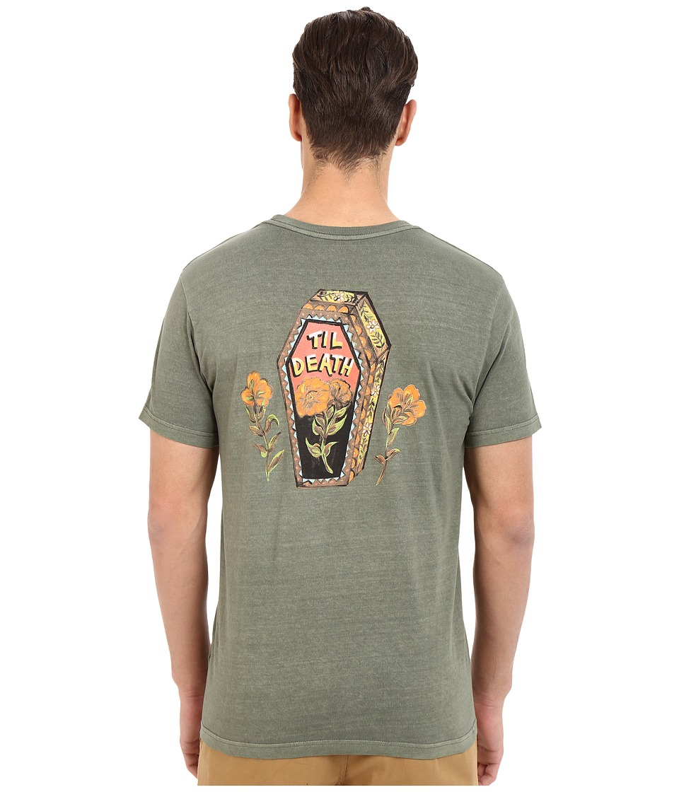 RVCA - Till Death Pocket Tee (Fatigue) Men