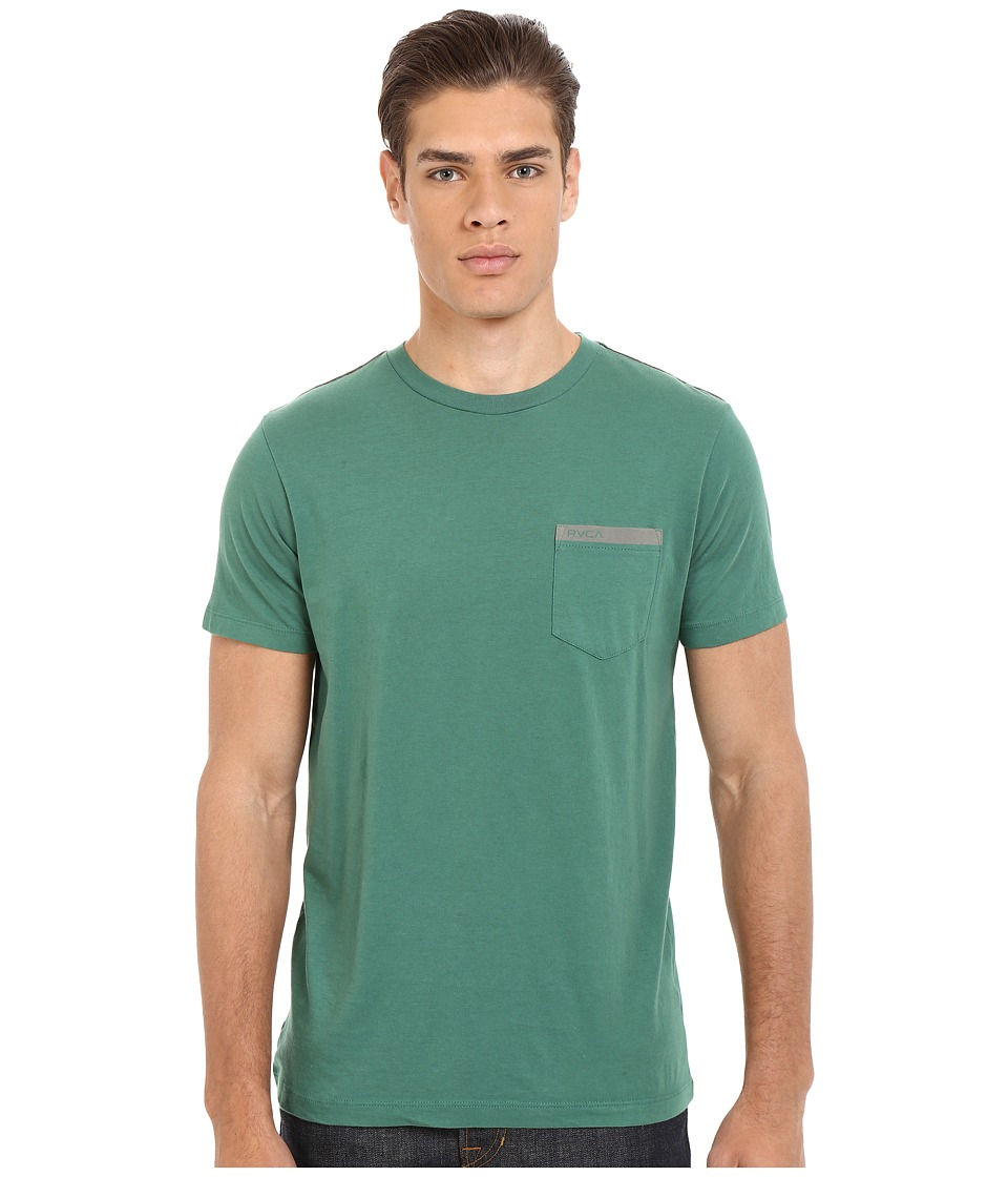 RVCA - Stripped Pocket Tee (Foliage) Men