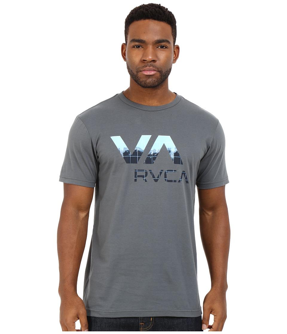 RVCA Quick Dip Va Tee Pavement Mens T Shirt