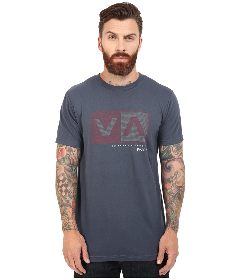 RVCA - Plus Minus Tee (Midnight) Men