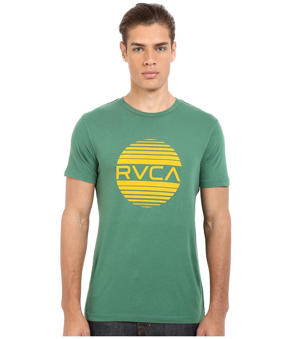 RVCA Sanborn Vintage Wash Tee Foliage Mens T Shirt